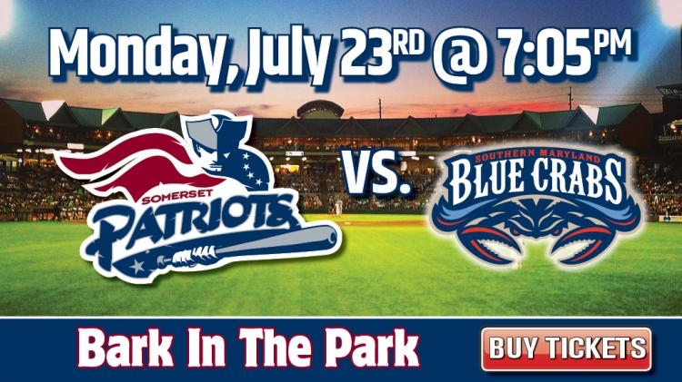 Southern Maryland Blue Crabs vs. Somerset Patriots