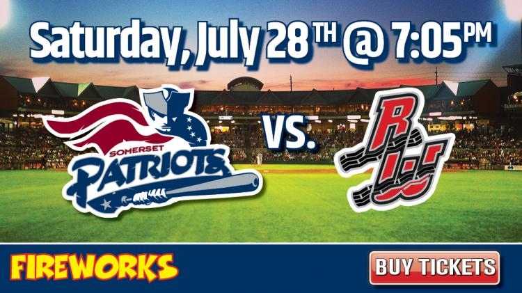 Road Warriors vs. Somerset Patriots