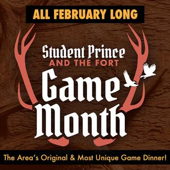 GAME MONTH & 3 HUNTERS DINNERS