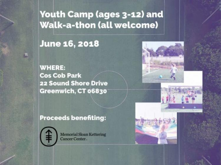 Kicking Cancer - Youth Soccer camp & Walk-a-thon