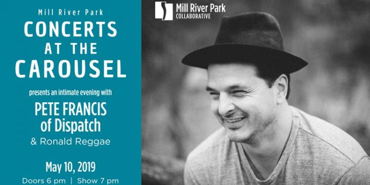 Concerts at the Carousel presents Pete Francis (of Dispatch)
