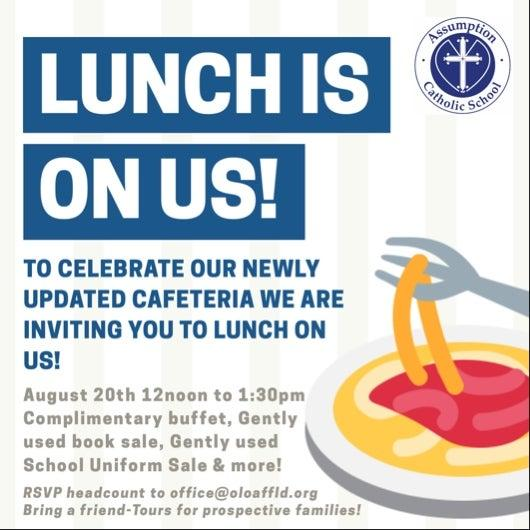 Lunch is on Assumption