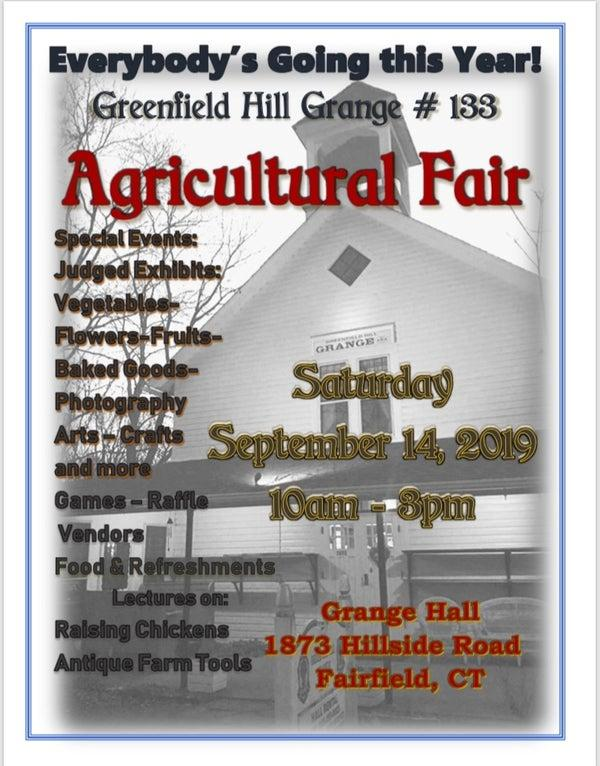Greenfield Hill Grange agricultural fair
