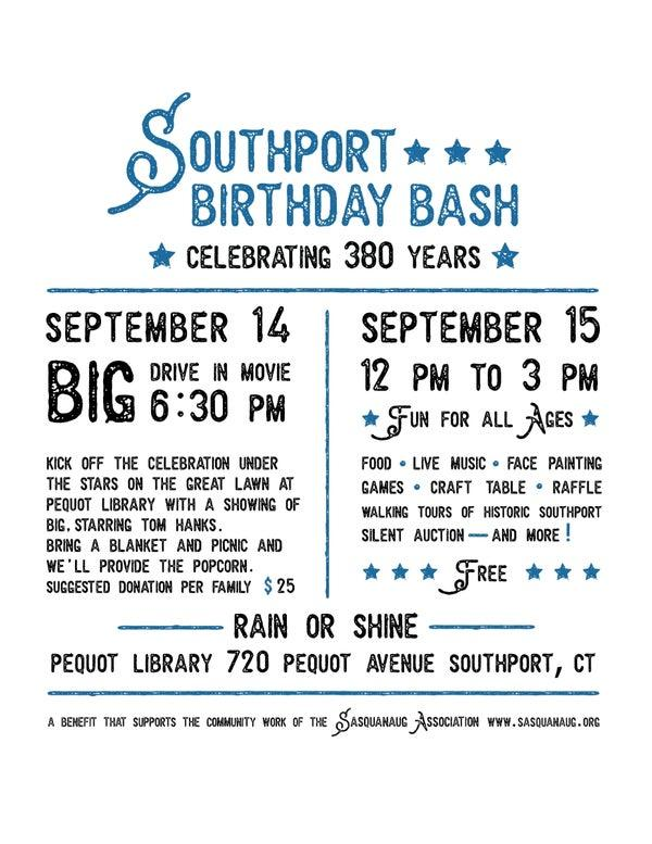 Southport Birthday Bash Big Drive-In Movie