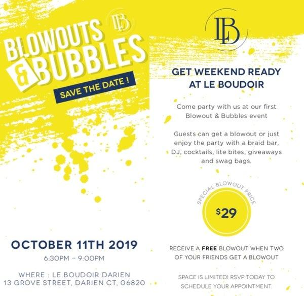 Blowouts and Bubbles
