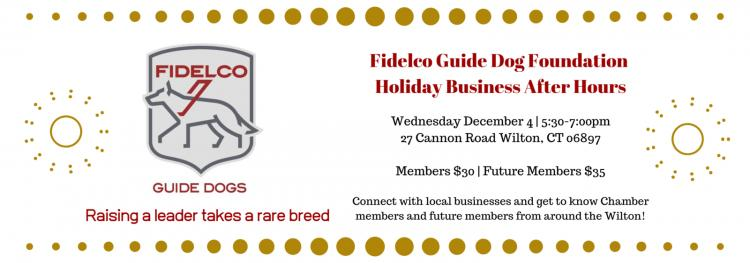 Holiday Business After Hours – Fidelco Guide Dog Foundation