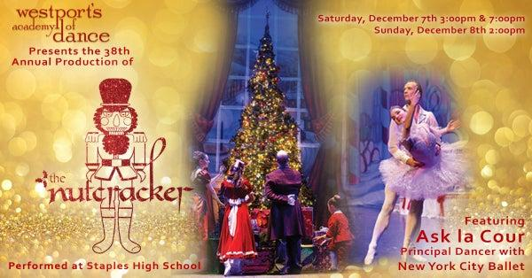 Westport's Academy of Dance: The Nutcracker Tickets on Sale Now!