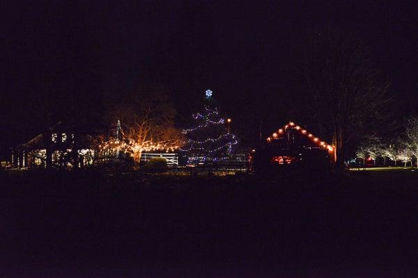 Wakeman Town Farm Holiday Tree Lighting Celebration