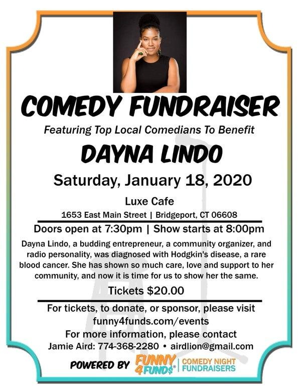 Funny4Funds Comedy Show Benefit for Dayna Lindo