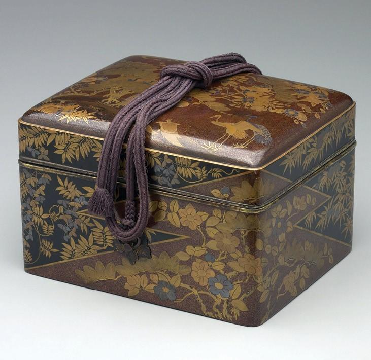 CHECK WITH ORGANIZER: Gifts of Gold: The Art of Japanese Lacquer Boxes