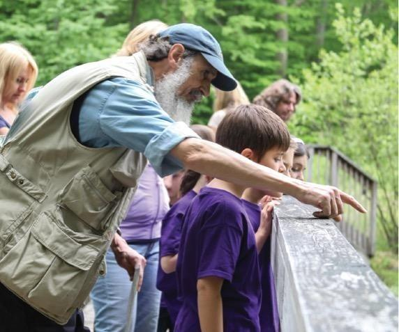 Ted Gilman Retirement Party: Celebrating 43 Years of Nature Educa
