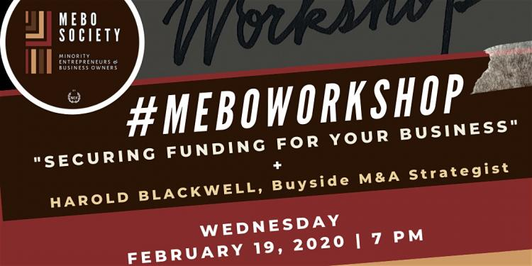 MEBO Society Presents: #MEBOWORKSHOP - February Edition