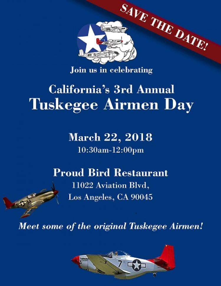 Tuskegee Airmen Recognition Day At The Proud Bird