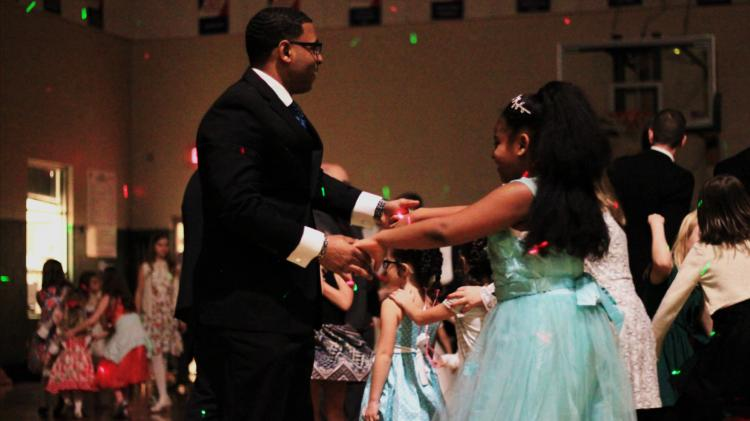 Dad & Daughter Dance at the Fishers YMCA
