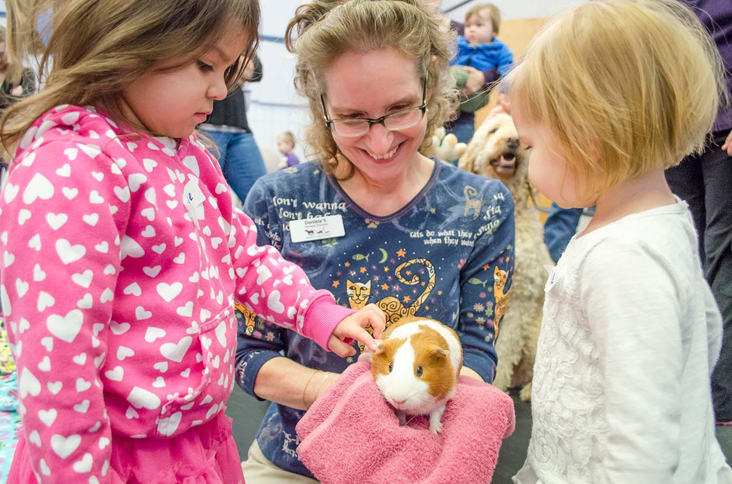 Furry Tails Story Time at The Animal Humane Society - Golden Valley