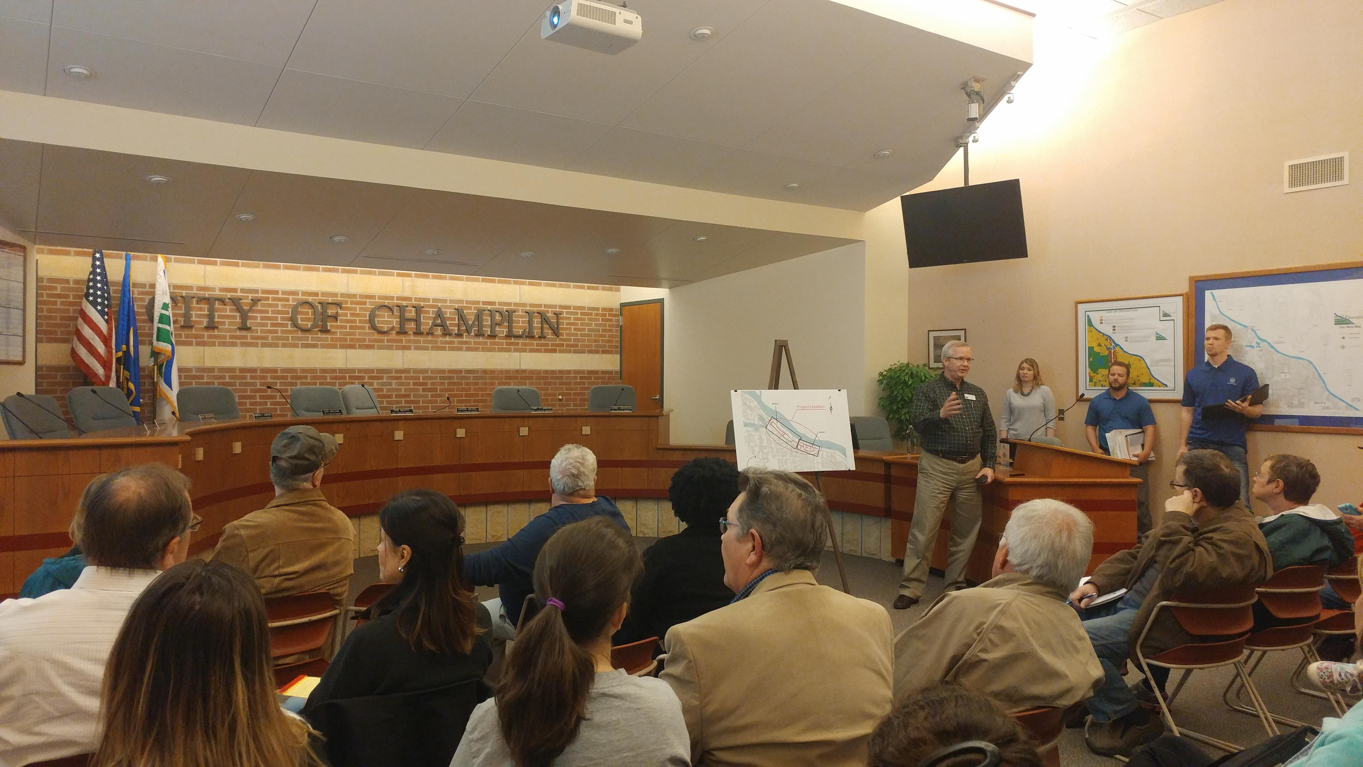 Champlin Economic Development Authority Meeting