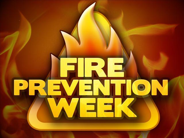 National Fire Prevention Week Oct 6-12