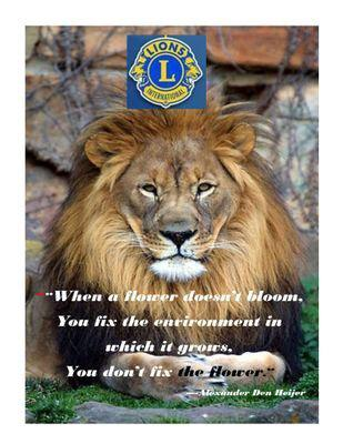 Maple Grove Lions Club Business Meeting