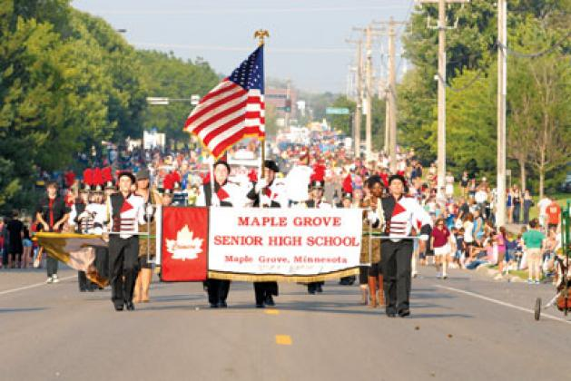 Maple Grove Days- Full Schedule