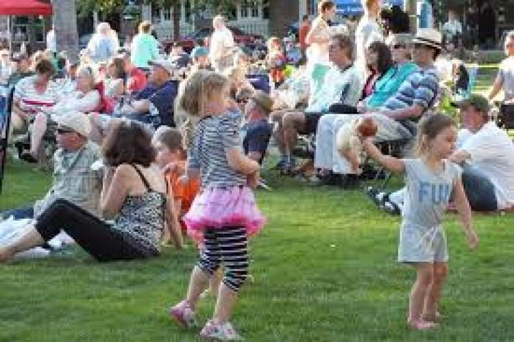 Maple Grove -  Town Green - Celebrate Music
