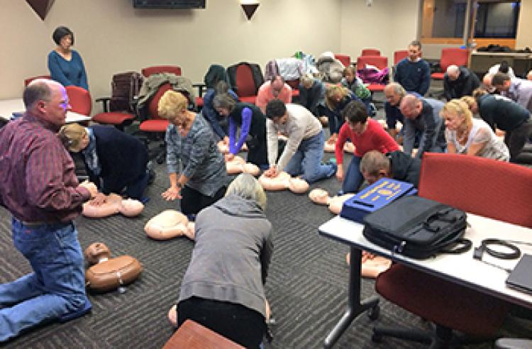 Plymouth - Free CPR/AED Training