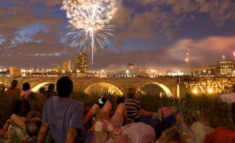 July FIREWORKS - Minneapolis and West Metro