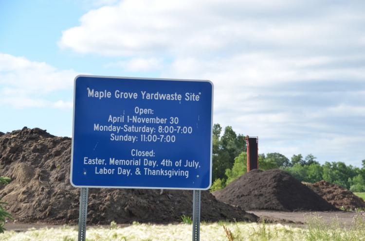 Maple Grove Yardwaste Site Opens