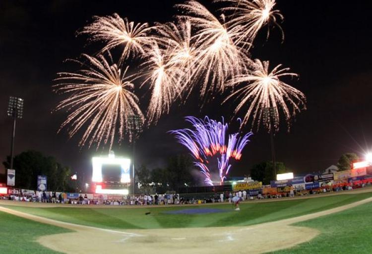 St. Paul Saints vs. Gary SouthShore with Post-Game Fireworks!
