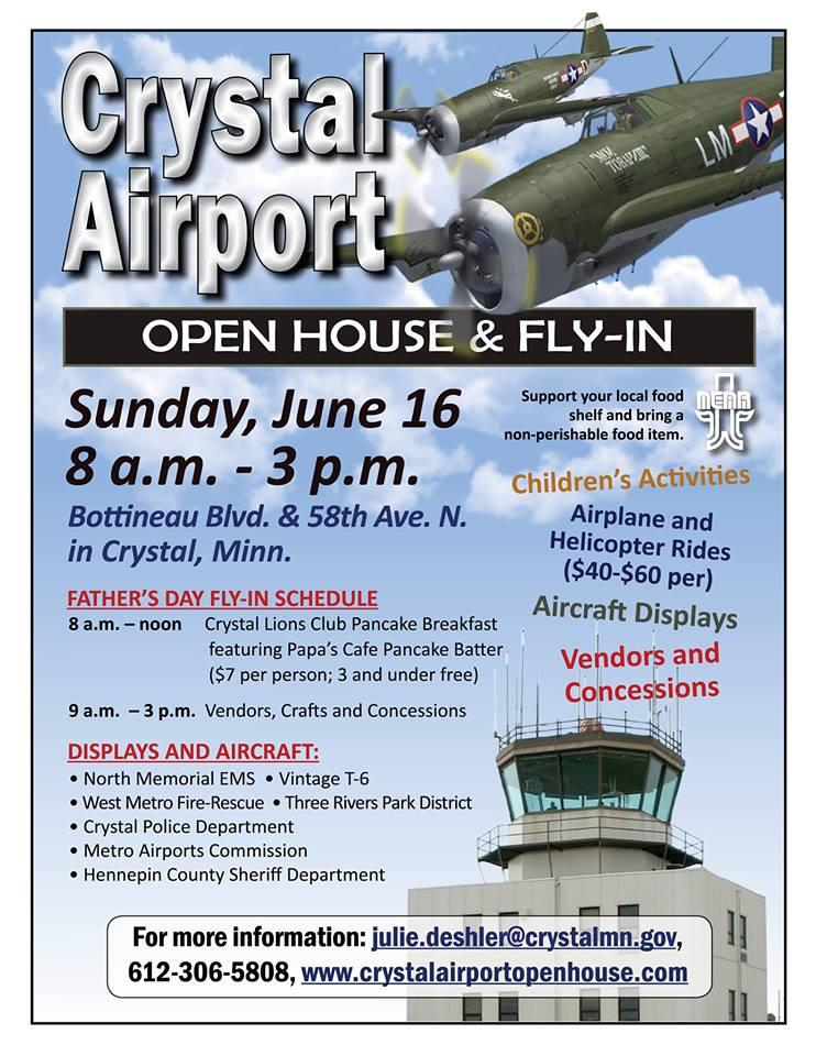 Crystal - Airport Open House, Craft Show & Fly-In