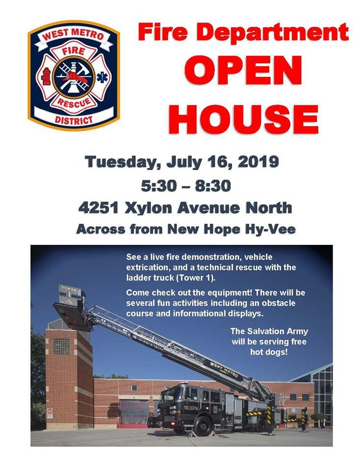 New Hope - West Metro Fire-Rescue Open House