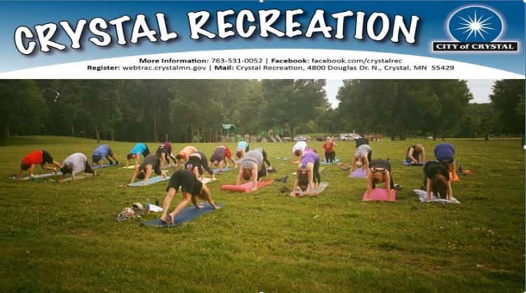 Crystal - Yoga in the Park