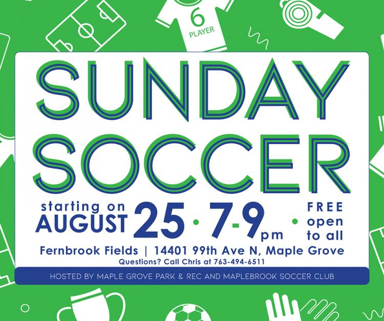 Maple Grove - Sunday Open Soccer