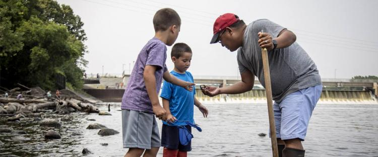 Coon Rapids Dam Regional Park - FREE Family Fun Days