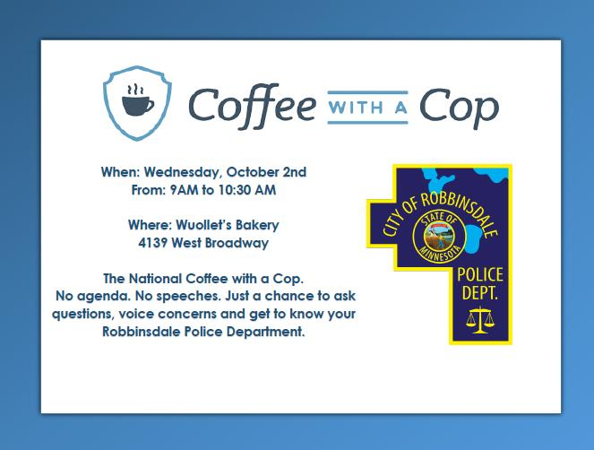 Robbinsdale - Coffee with a Cop