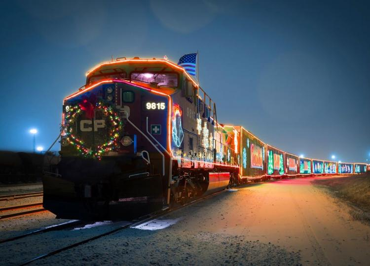 Golden Valley - CP Holiday Train