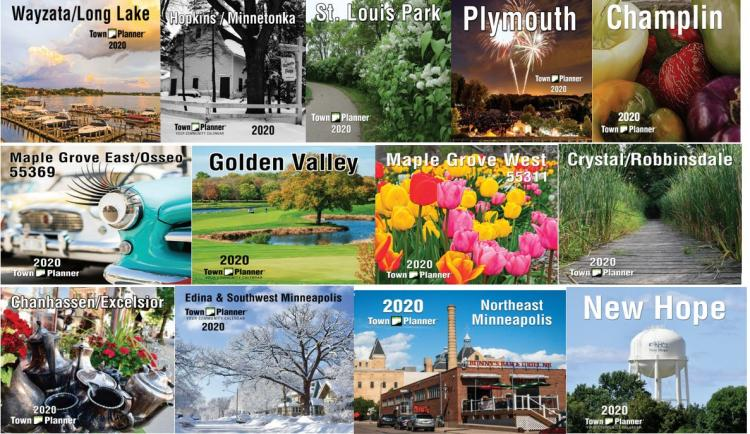 2020 Town Planner Calendars- Pick up Locations