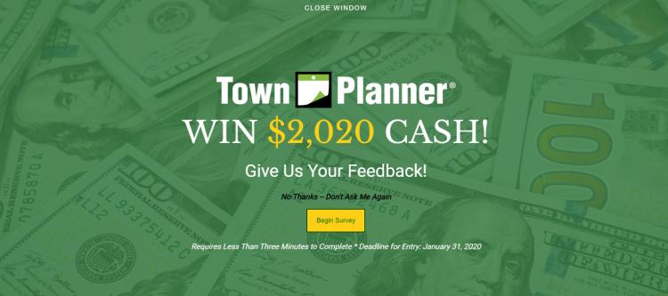$2020 Feedback Reminder *** Complete for A Chance to Win ***