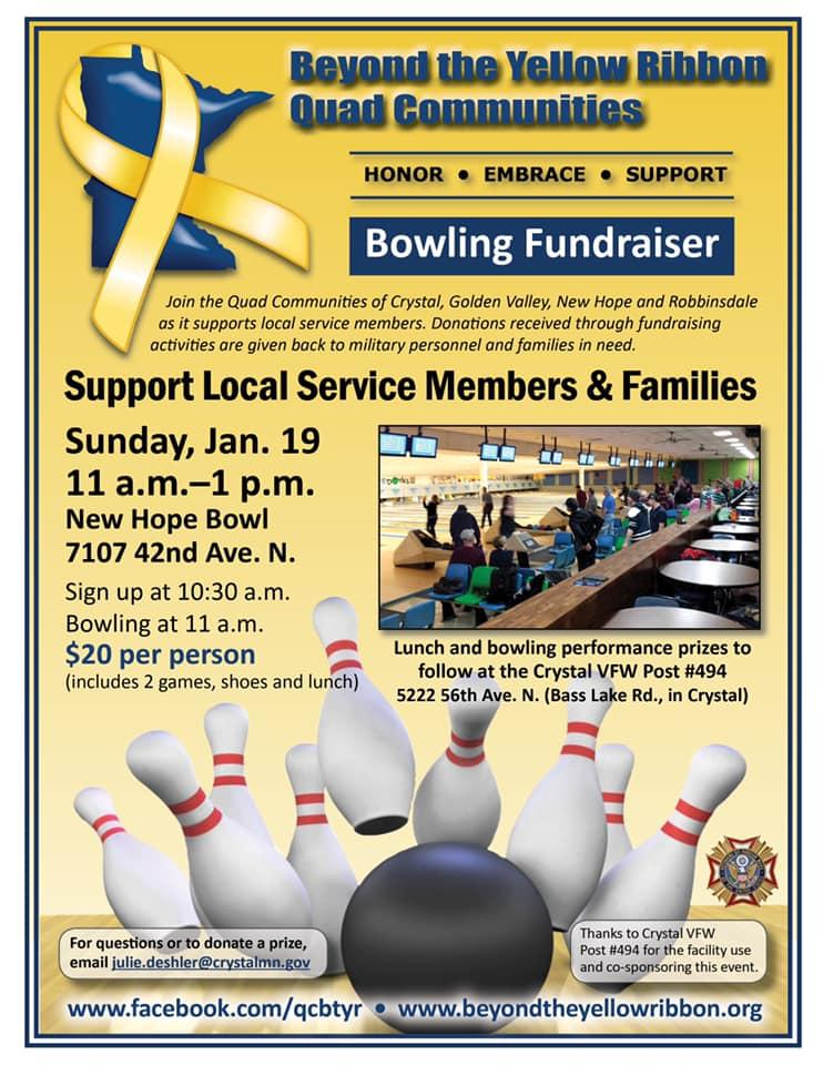 New Hope - Beyond the Yellow Ribbon Bowling Fundraiser