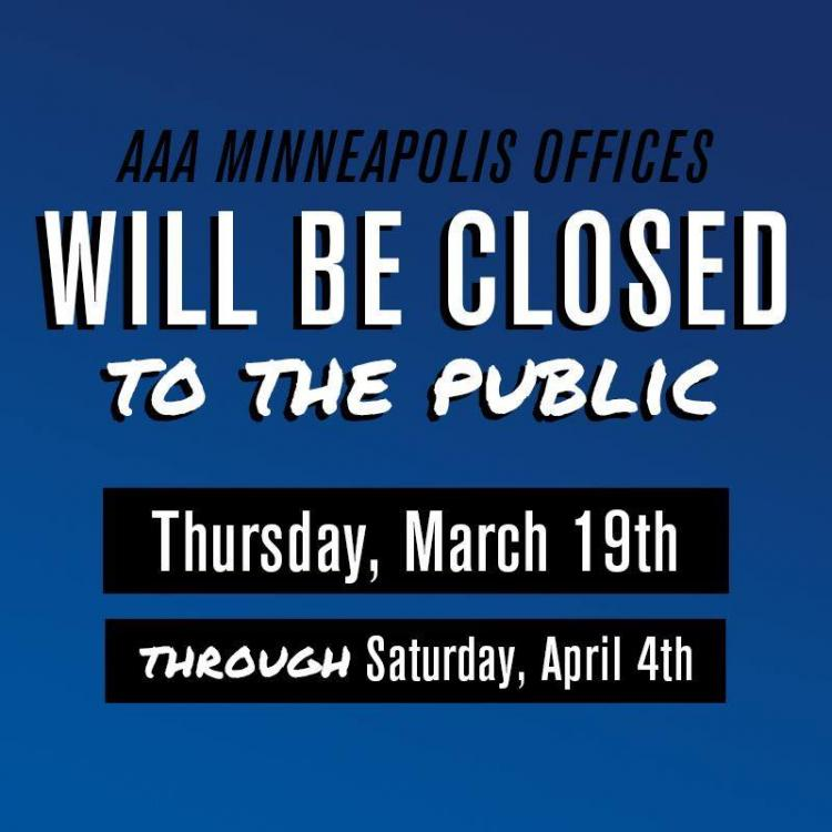 AAA Minneapolis St. Louis Park - Temporarily Closed