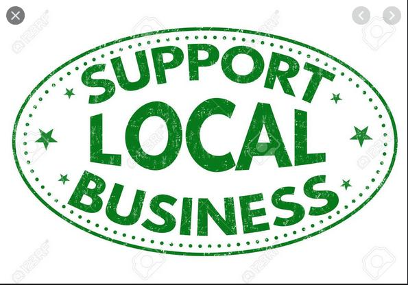 Please Support These Locally Owned, Small Businesses!