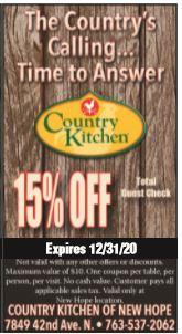 Country Kitchen - New Hope - Open for Carryout & Delivery