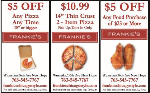 Frankie's Chicago Style - New Hope - Open for Curbside Pickup & Delivery