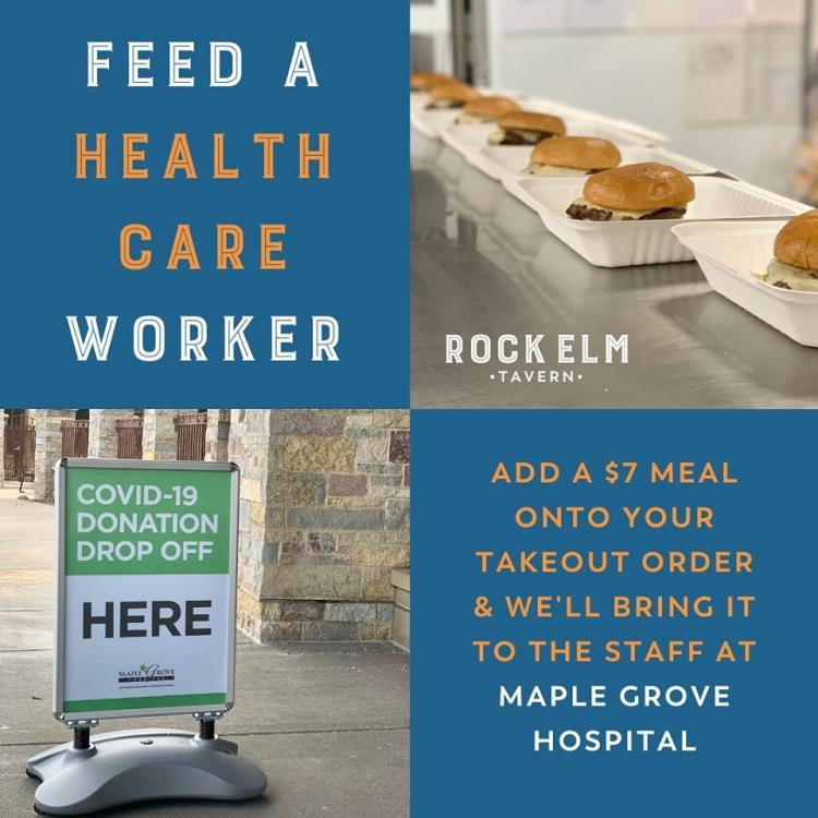 Feed a Healthcare Worker - Rock Elm Tavern