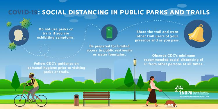 Open Parks & Trails - Enjoy the Outdoors!