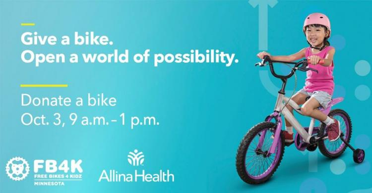Free Bikes 4 Kidz Community Bike Collection Event