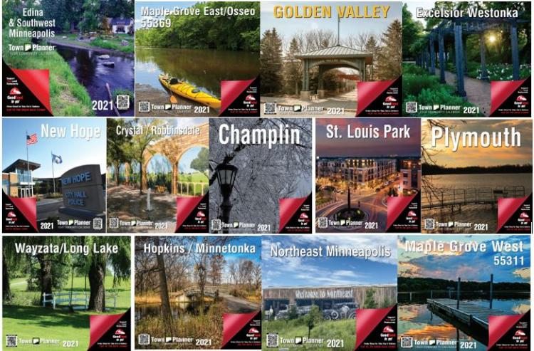 2021 Town Planner Calendars- Pick up Locations