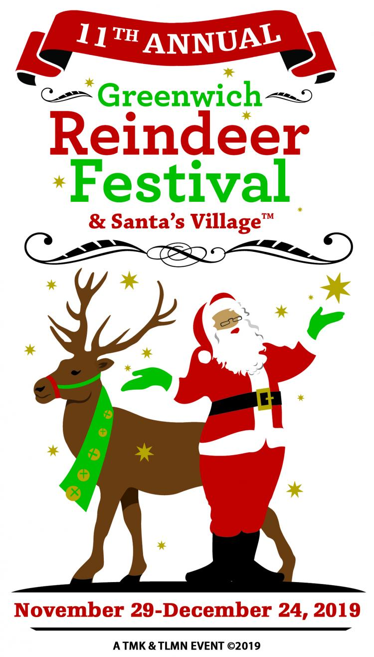 11th Annual Greenwich Reindeer Festival & Santa's Village
