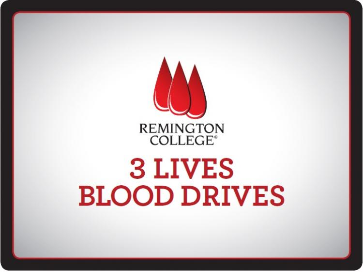 Minority blood donors needed for 3 Lives Blood Drive at Remington College Lafaye