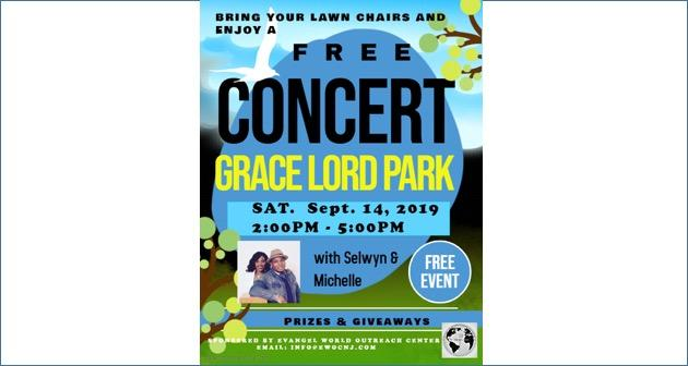 Free Concert in Grace Lord Park