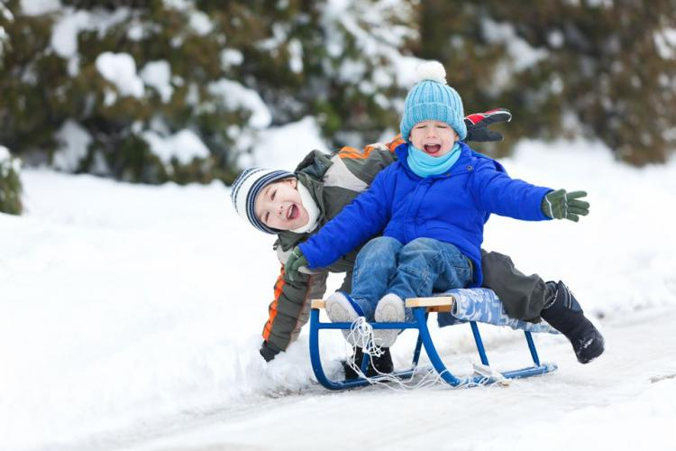 The Ultimate Sledding Hills and Outdoor Skating Rinks!